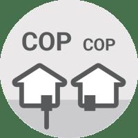 Toplotna črpalka - Slabosti - Učinkovitost sistema ogrevanja je odvisna od vrste toplotne črpalke / PorabiManjINFO