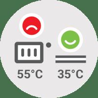 Toplotna črpalka - Nasvet - Prepričajte se ali lahko preklopite na nizkotemperaturni sistem  / PorabimanjINFO