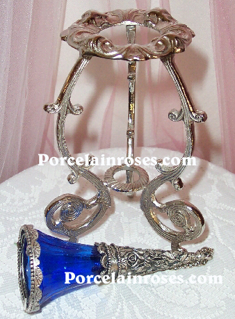 Blue Cobalt Tussy Mussy By Porcelain Wedding Bouquets