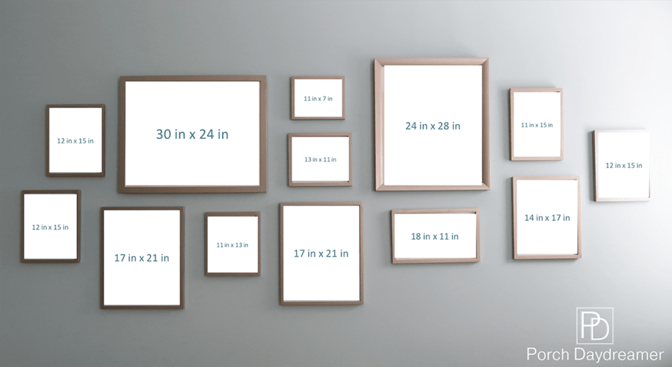 Create a gallery wall that looks like a designer did it for Picture wall layout