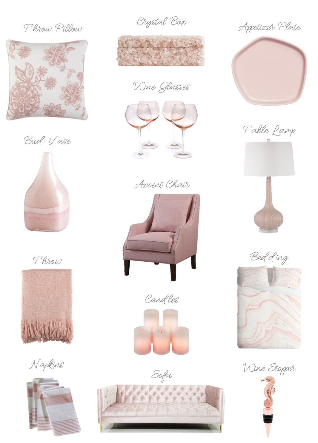 Blush Pink Paint Color