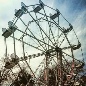 The 4 Hands Brewery Ferris Wheel.
