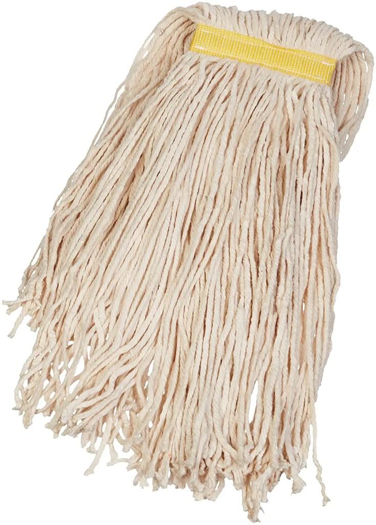 amazonbasics mop heads waxing floors