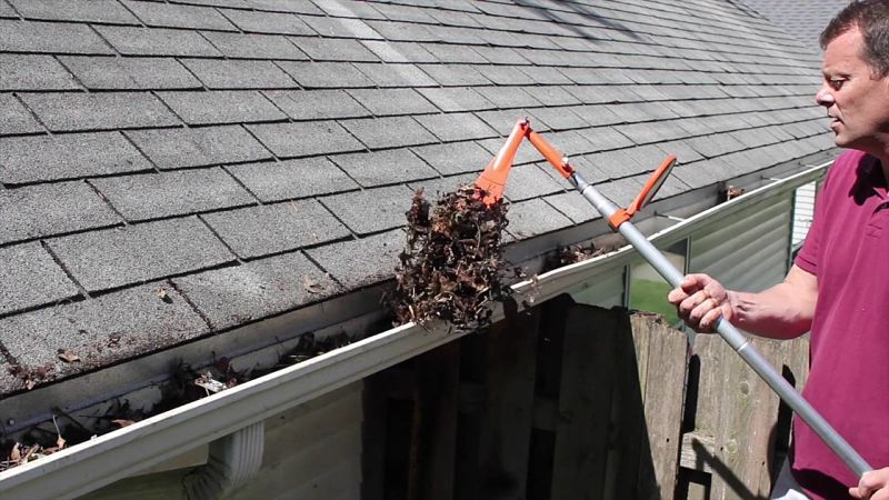 gutter guard needed here