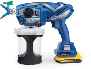 graco cordless airless paint sprayer