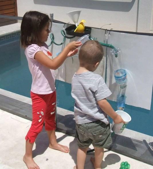 Juegos de verano: cómo hacer un circuito de agua