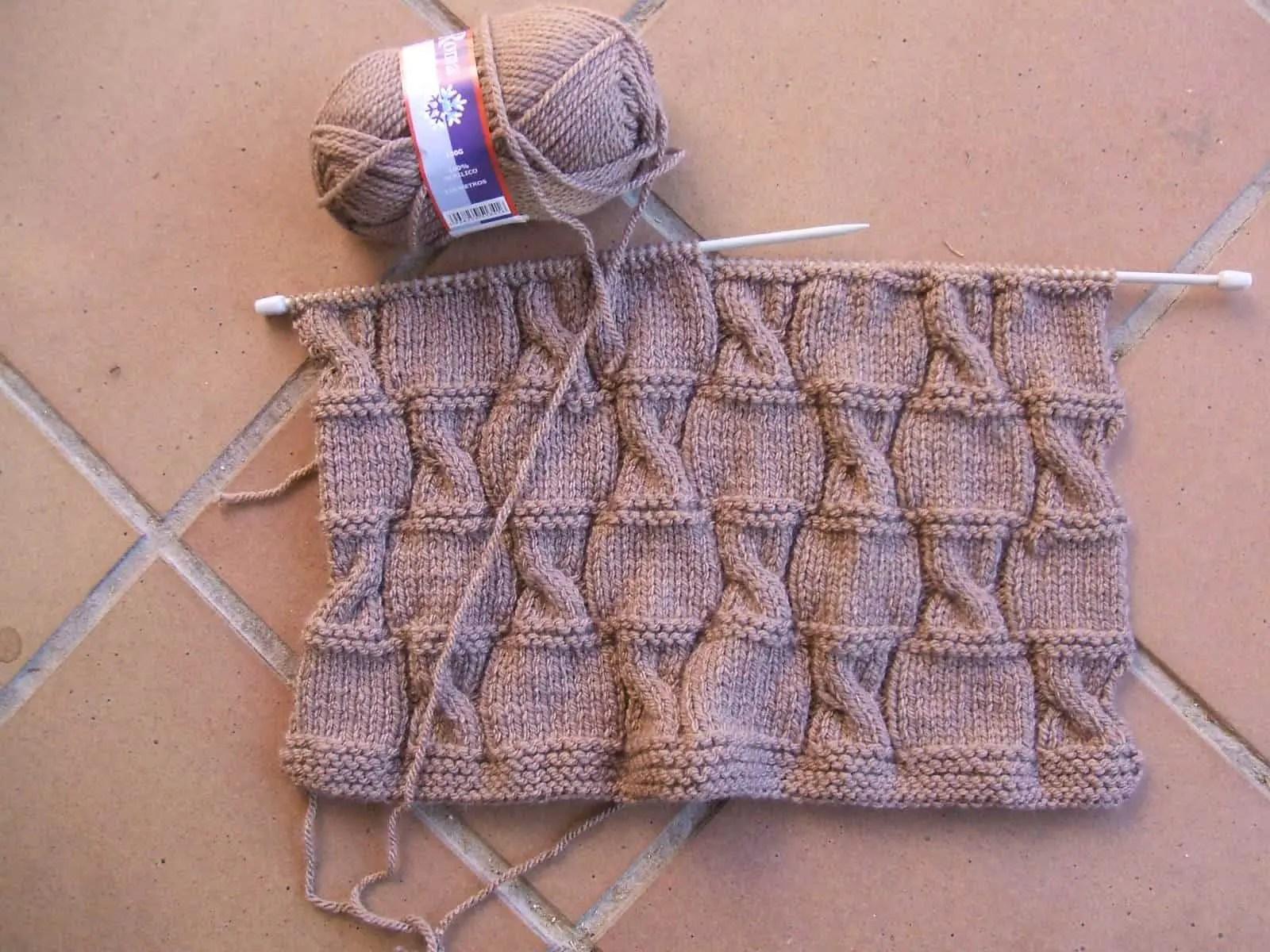 Como tejer un bolso de lana