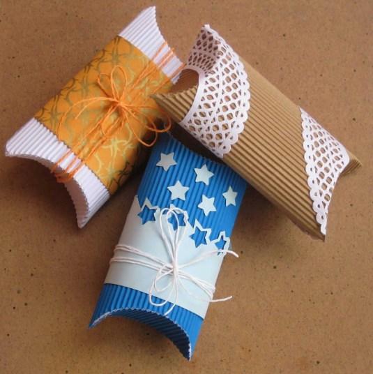 Cómo hacer cajitas de almohada