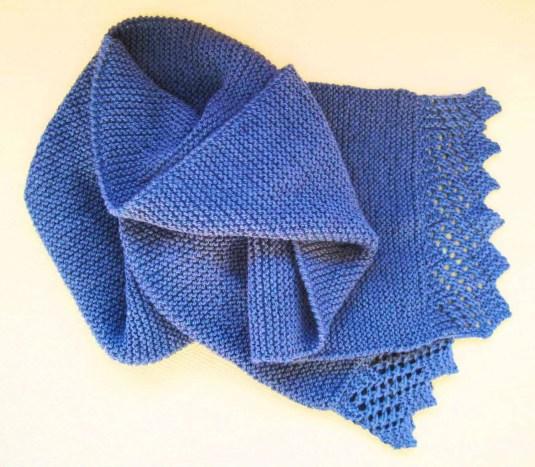 Cómo tejer una bufanda con dos agujas