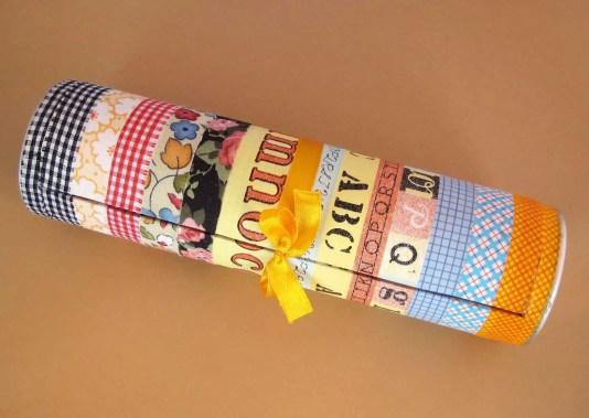 Cómo hacer una caja para tus washi tape