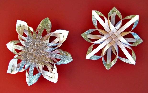 Cómo hacer estrellas de navidad con papel