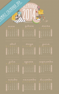 Calendario_2014_Laucreativa