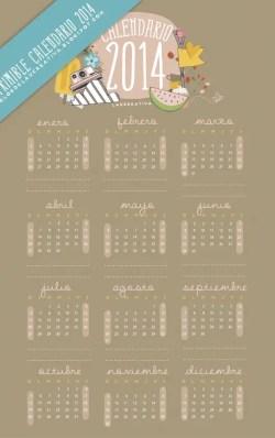 Calendario_2014_Laucreativa