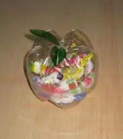 Rellenamos el dulcero con caramelos