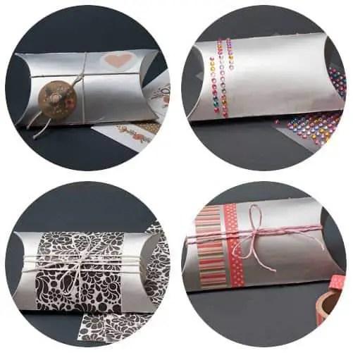 Cómo hacer cajitas de regalo con cartón de brik