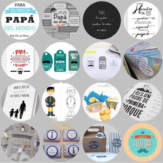 16 imprimibles gratis para el día del padre