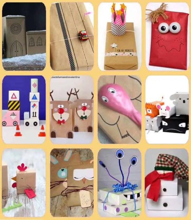 12 ideas divertidas para envolver regalos para niños - Por cuatro ...