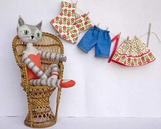 Telas personalizadas: patrones para coser una muñeca