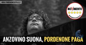 ANZOVINO SUONA, PORDENONE PAGA!