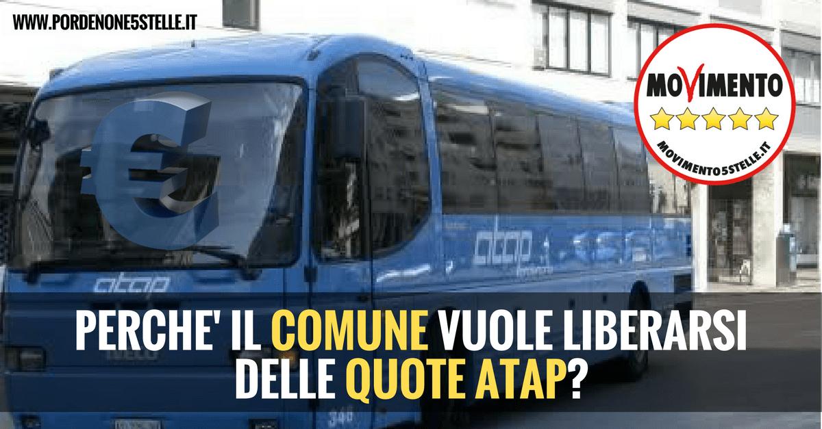 Read more about the article PERCHE' IL COMUNE VUOLE VENDERE ATAP?