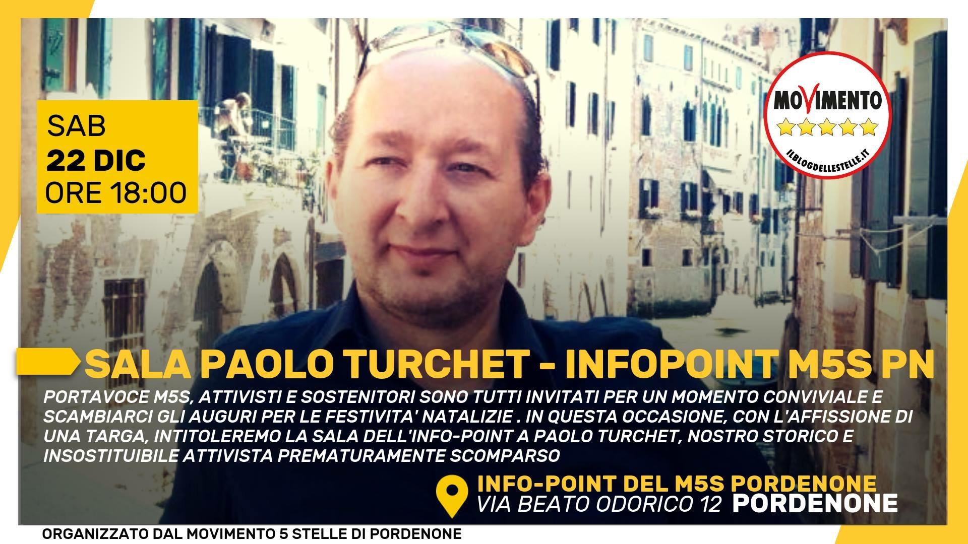 Read more about the article INAUGURAZIONE SALA PAOLO TURCHET