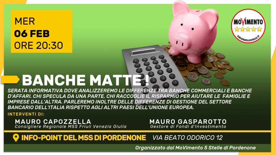 You are currently viewing BANCHE MATTE!