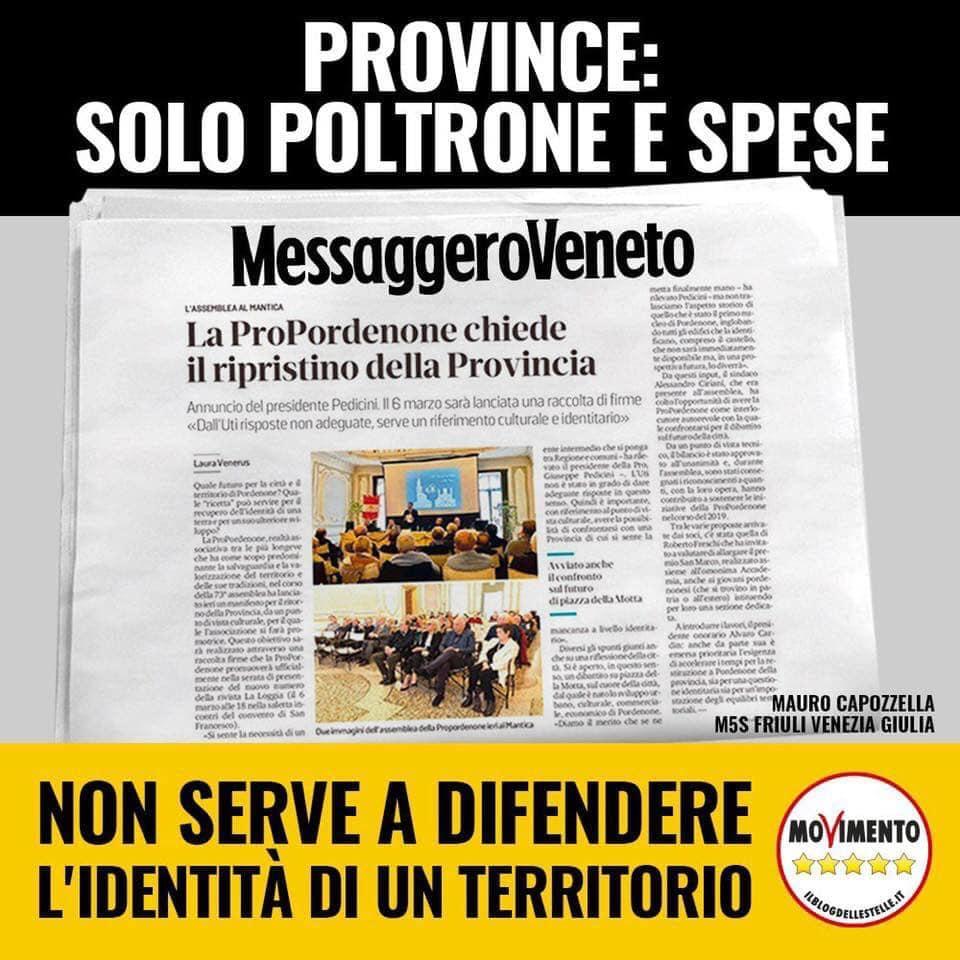 Read more about the article Politica o valorizzazione?
