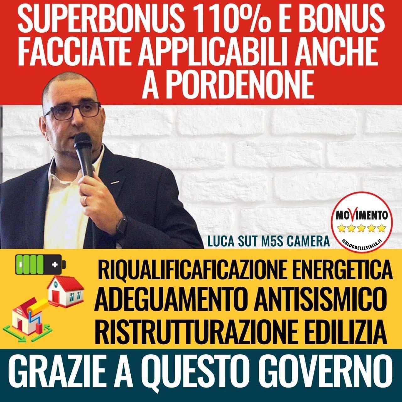Superbonus 110% e bonus facciate applicabili anche a Pordenone