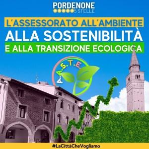 Read more about the article Assessorato all'Ambiente, alla Sostenibilità di alla Transizione Ecologica