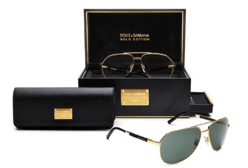Dolce & Gabbana Gold Edition Eyewear