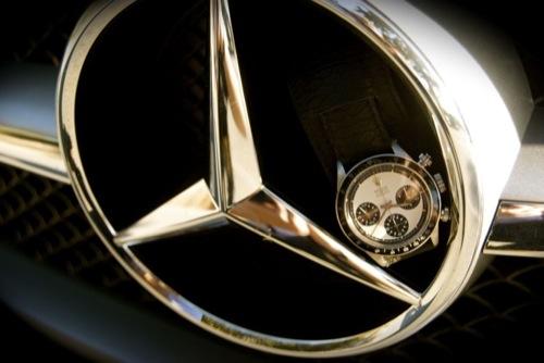 Mercedes-Benz AMG SLS Gullwing x Daytona Rolex Paul Newman