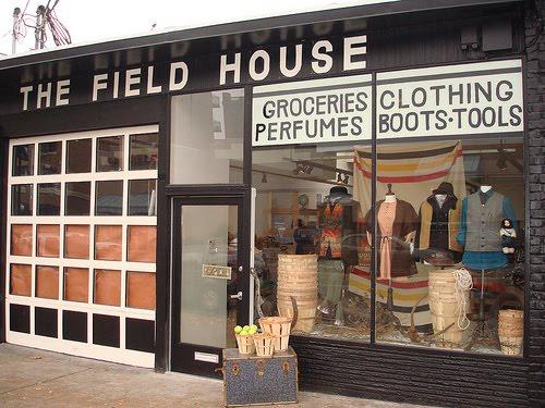 The Field House: Blackbird's Pop-Up Shop