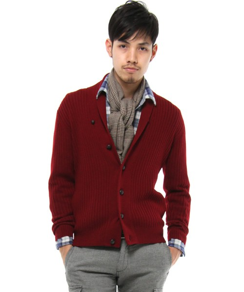 Ships Wide Rib Shawl Cardigan