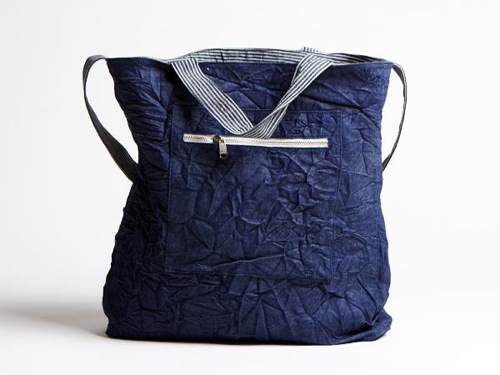 Hope Denim Shopping Bag