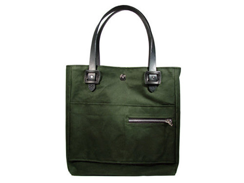 Tanner Goods x 3sixteen Waxed Canvas Tote