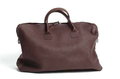 The Travel Bag | Basil Racuk Soft Brief