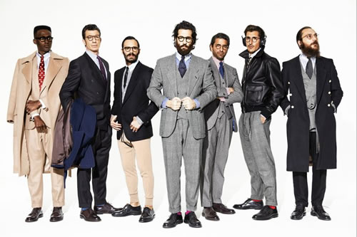 Investment Bankers | Umin Benan Fall/Winter 2011 Collection