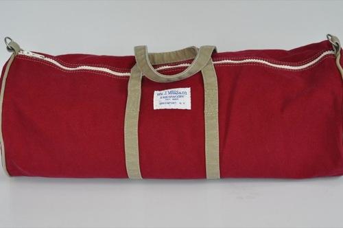 Wm. J. Mills & Co. Sag Harbor Duffel Stonewashed Vintage Series in Napthol Red