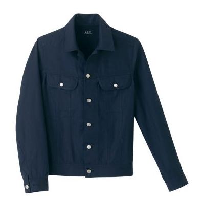 A.P.C. Navy Retro Jacket