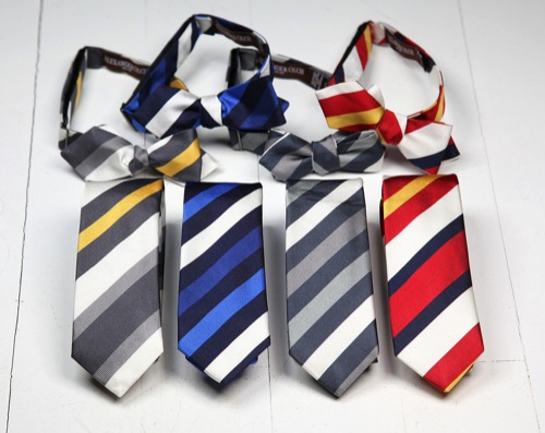 Alexander Olch for ACL & Co. Silk Repp Stripe Ties