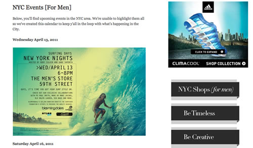 Por Homme | NYC Events [For Men]