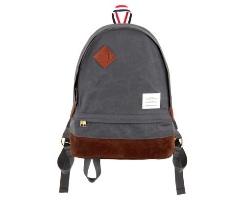 The Want | Thom Browne Canvas Backpack