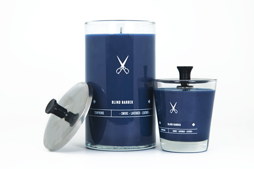 The Blind Barber Tompkins Candle