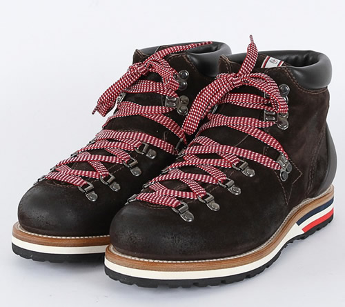 The Want | Moncler V Suede Hiking Boot