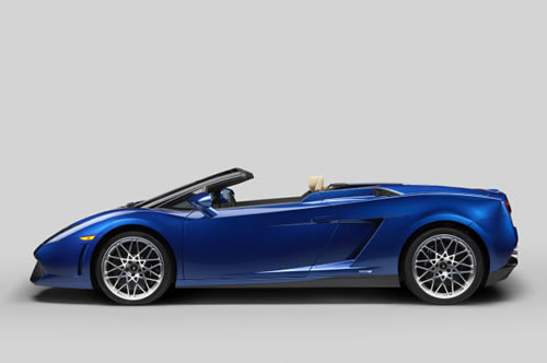 2012 Lamborghini Gallardo LP550-2 Spyder