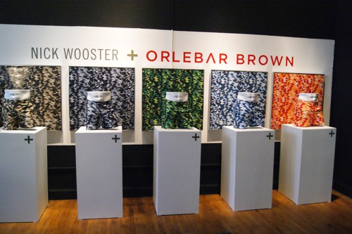 Nick Wooster + Orlebar Brown at Project NY FW 2012
