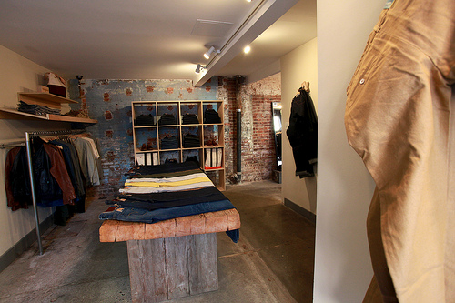 Levi's Made & Crafted S/S 2012 Pop Up at Smith + Butler