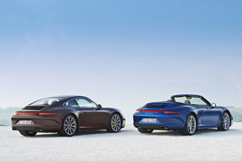 2013 Porsche 911 Carrera 4 and 4S Coupe / Cabriolet