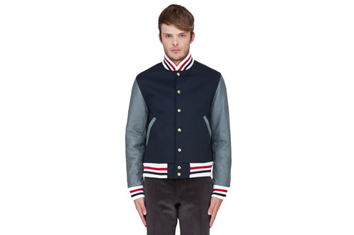 Thom Browne Machintosh Varsity Jacket - Fall/Winter 2012