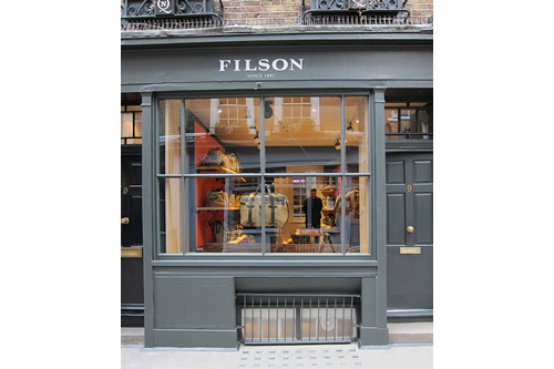 Now Open | Filson London